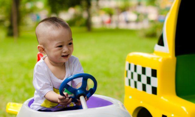 Jak być szczęśliwym posiadaczem i samochodu, i dziecka?